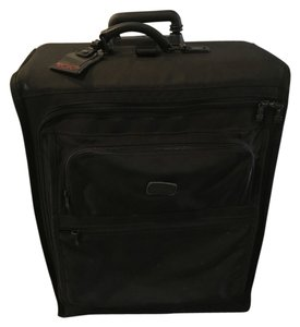 Tumi Suitcase Sturdy Durable Black Travel Bag