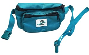 Other 1980's Teal Green Fanny/Hip Pack/ Waist Bag by Tan Sac [ Roxanne Anjou Closet ]