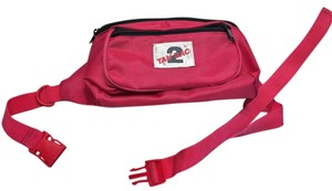 Other 1980's Fuchsia Fanny/Hip Pack/ Waist Bag by Tan Sac [ Roxanne Anjou Closet ]