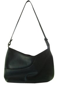 Maxx New York Leather Pebbled Shoulder Bag