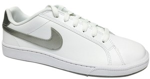 Nike White/Silver Athletic