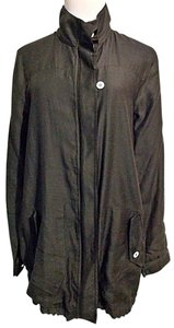 Loomstate Organic Cotton Anorak Size Medium Black Jacket