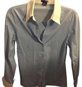 Tailor New York Button Down Shirt Blue/white
