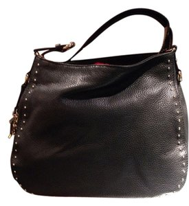 Carolina Herrera Leather Tote in Black