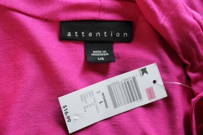 Attention Top Pink