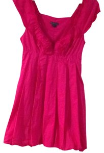 A|X Armani Exchange short dress Hot pink on Tradesy