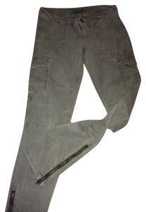American Eagle Outfitters Aeo Straight Pants Army Green