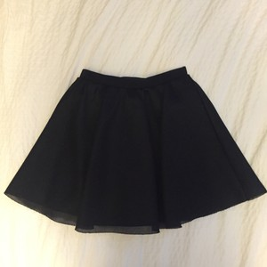 H&M Full Size 12 Short Mini Skirt Black