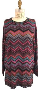 Missoni short dress Blue/Purple on Tradesy