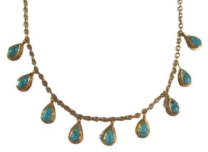 Melinda Maria Melinda Maria turquoise dangle necklace