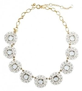 J.Crew J.Crew Crystal Circle Necklace
