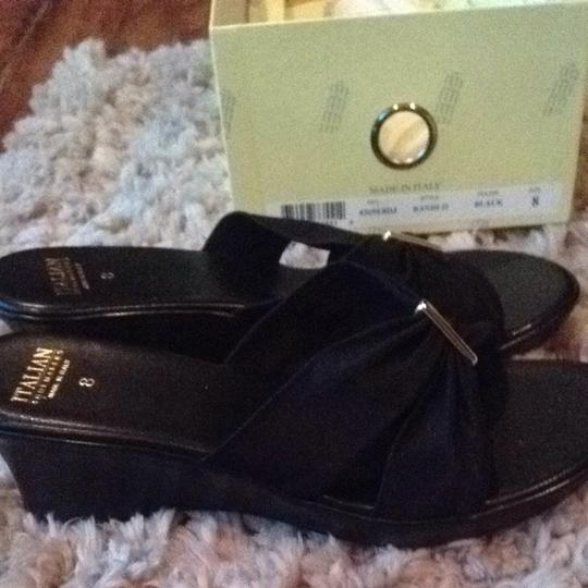 Other Black With Gold Accents Wedges