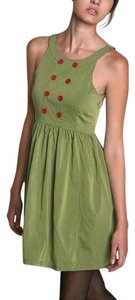Urban Outfitters short dress Green Sailor Geren Ford Mini Sleeveless on Tradesy