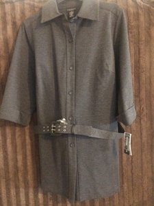 Rafaella Jacket Grey Jacket Trench Coat