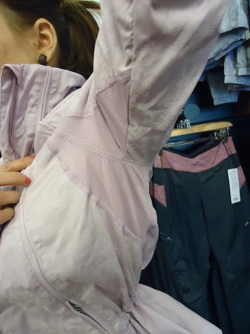 Lululemon Sold Out Rare Discontinued Running Dance Athletic Lilac Lavender Jacket