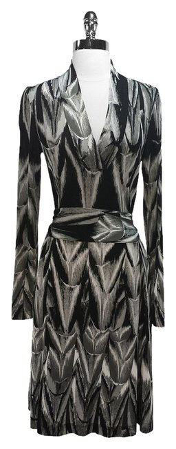 Escada short dress Black & Gray Sport Silk on Tradesy