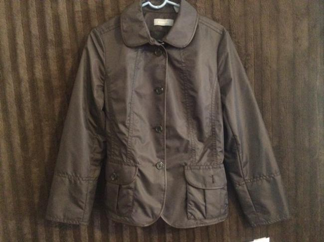 Liz Claiborne Coat Brown Jacket