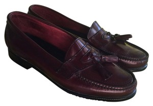 Bass Weejuns Loafers burgundy Flats