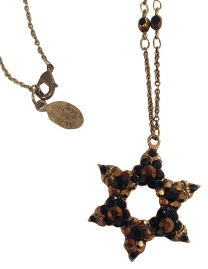 Preload https://item4.tradesy.com/images/michal-negrin-crystal-star-of-david-on-chain-1429993-0-0.jpg?width=440&height=440