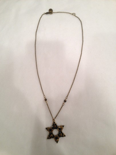 Michal Negrin Crystal Star of David on Chain