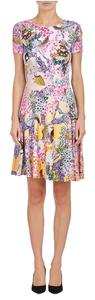 MARY KATRANTZOU short dress Multi Day Print Cut-out on Tradesy