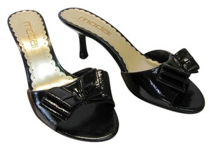 Moda Spana New Size 8.00 M Excellent Condition Black Sandals