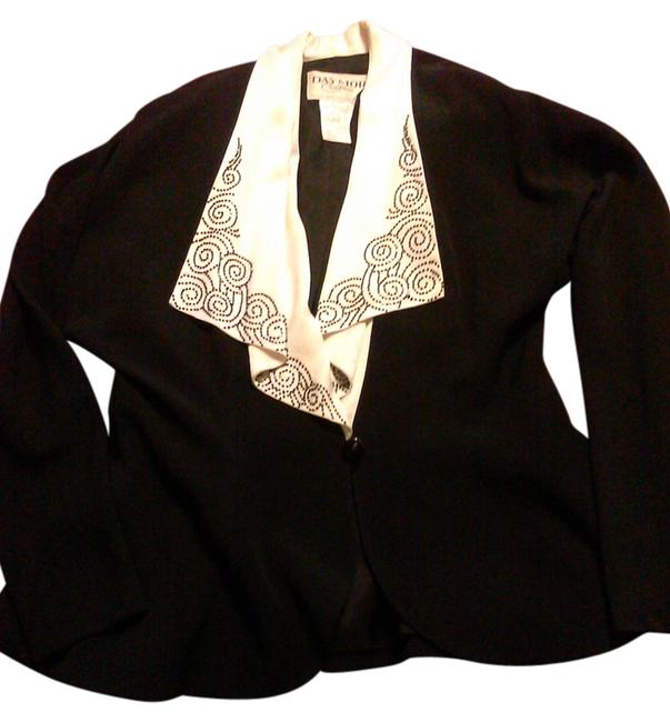 Daymor Couture Chic Embellished black Blazer