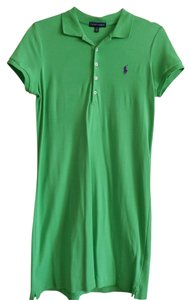 Ralph Lauren short dress Green 100% Cotton Short Sleeve Nwot on Tradesy