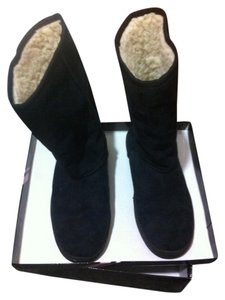 Journee Collection Fall Winter Comfy Black Boots