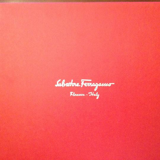 Salvatore Ferragamo In Box Platinum Pumps