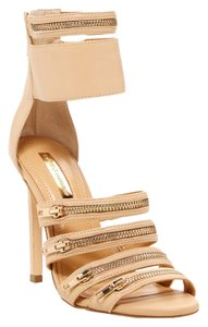 BCBGeneration Leather Warm Sand Sandals