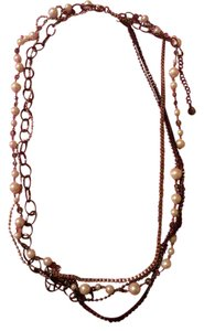 Graziano Graziano Seven rows multi- strads necklace
