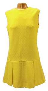 short dress Yellow on Tradesy