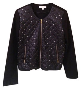 Ellen Tracy Studded Black Jacket