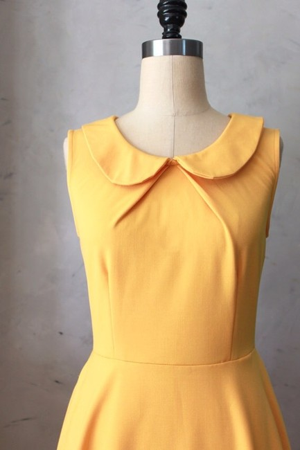Other short dress Pale Yellow on Tradesy