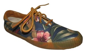 Cole Haan Flower Rubber Blue, rose, tan and beige Athletic