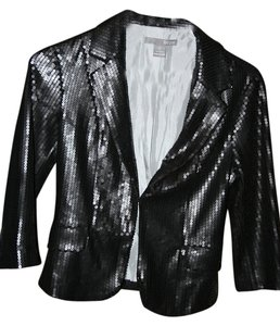 Hype Sequin Sequined Black Jacket