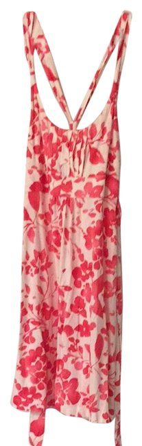 ef1c653015 American Eagle Outfitters short dress White And Pink Coral on Tradesy ...