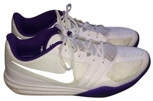 Nike White and purple Athletic