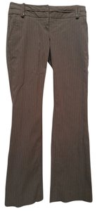 The Limited Machine Washable Pinstripe Boot Cut Pants Brown