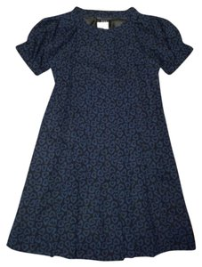 Marc by Marc Jacobs short dress Navy blue Girl Pleated on Tradesy