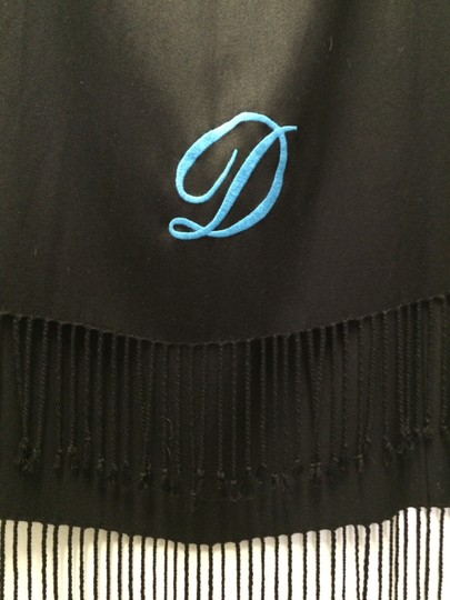 Joan Rivers Joan Rivers Embroidered Initial Scarf - D