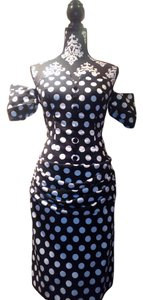 Saks Fifth Avenue Vintage Polka Dot Dress