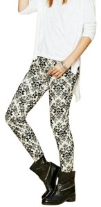 Free People Casual Patterned Skinny Jeans