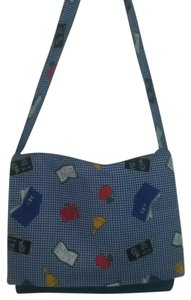 Other Handbags Spiders Halloween Trick Or Treat Blue Messenger Bag