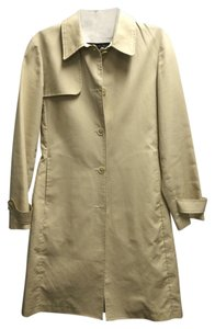 Kenneth Cole Trench Long Mid Length Jacket Tan Burberry Jacket Trench Coat