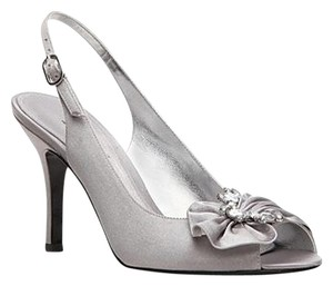 Lulu Townsend Bling Satin Silver Formal