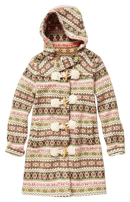 Item - Multicolor Archival Collection: Fair Isle Sweater Coat Size 6 (S)