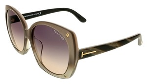 Tom Ford Tom Ford Champagne Pearl Square Sunglasses