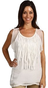 Blue Tassel Silk Fringles Top